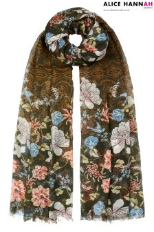 Alice Hannah Heritage Tapestry Woven Scarf