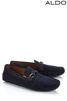 Aldo Mens Suede Loafers