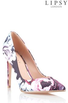 Lipsy Floral Pointed Court Shoes