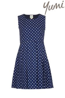 Yumi Girl Heart Skater Dress