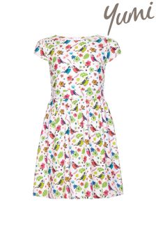 Yumi Girl Bird Party Dress