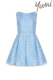 Yumi Girl Polka Dot Party Dress