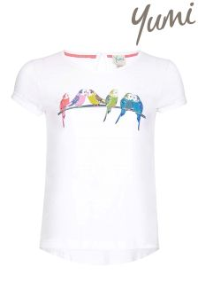 Yumi Girl Tropical Bird T-Shirt
