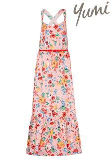 Yumi Girl Tropical Maxi Dress