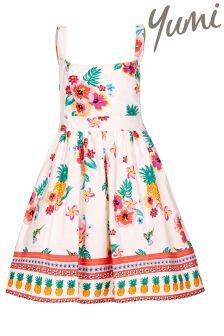 Yumi Girl Floral Dress