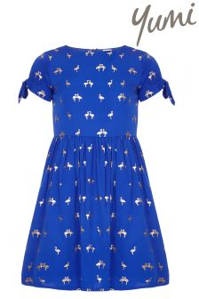 Yumi Girl Flamingo Dress