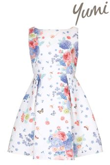 Yumi Girl Butterfly Party Dress