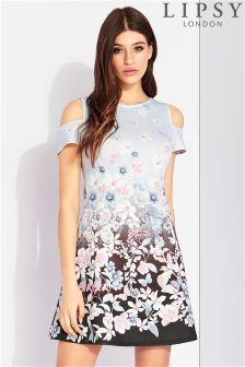 Lipsy Floral Printed Shift Dress