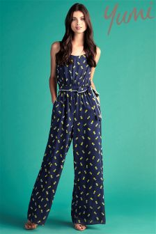 Yumi Pineapple Jumpsuit