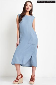 Noisy May Midi Split Dress
