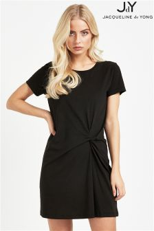 JDY Short Sleeve Knot Dress