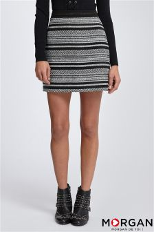Morgan Jacquard Skirt