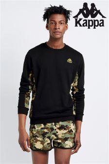 Kappa Camouflage Mesh Panel Sweatshirt
