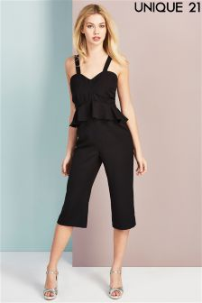 Unique 21 Ruffle Jumpsuit