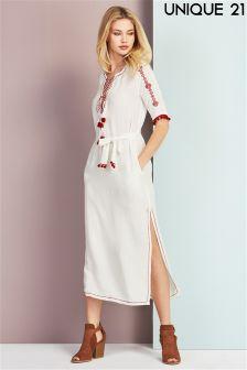 Unique 21 Embroidered Maxi Dress