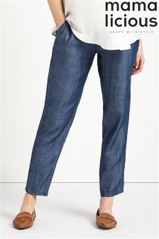 Mamalicious Maternity Denim Trousers