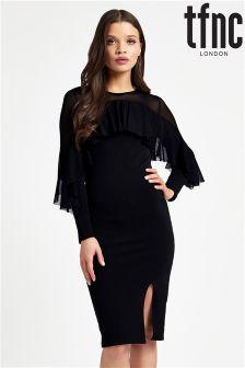 tfnc Long Sleeve Midi Dress