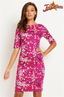 Joe Browns Printed V-neck Bodycon Dress