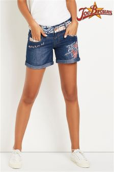 Joe Browns Denim Ripped Shorts