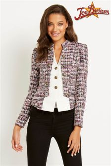 Joe Browns Tweed 2 In 1 Blazer Jacket
