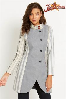 Joe Browns Ticking Stripe Coat