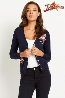 Joe Browns Summer Bloom Appliqu'e Cardigan