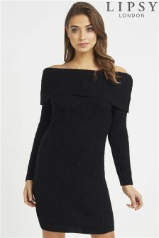 Lipsy Bardot Jumper Dress