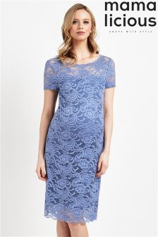 Mamalicious Maternity Lace Shift Dress