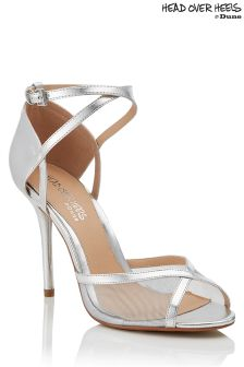 Head Over Heels Metallic Sandals