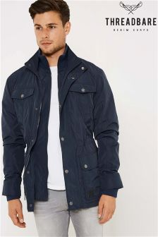 Threadbare Jacket With Mock Inner