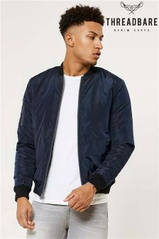 Threadbare Bomber Jacket