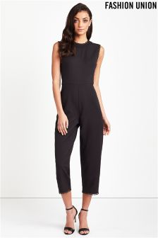 Fashion Union Tailored Jumpsuit
