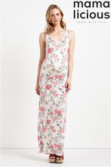 Mamalicious Maternity Floral Maxi Dress