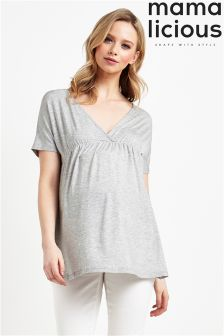 Mamalicous Maternity Detailed Top