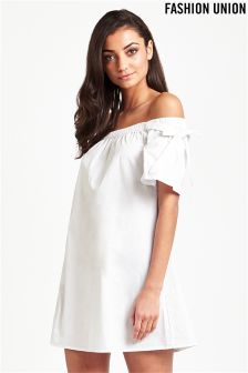 Fashion Union Bardot Shift Dress