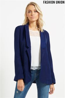 Fashion Union Shawl Collar Blazer