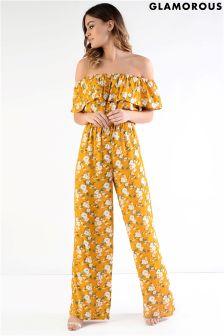 Glamorous Printed Jumpsuit