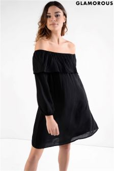 Glamorous Off Shoulder Shift Dress