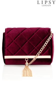Lipsy Tassel Cross Body Bag