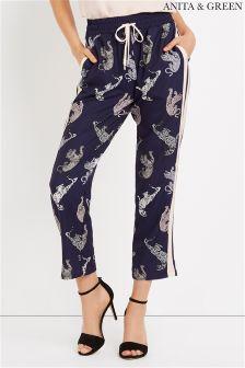 Anita & Green  Leopard Print Trousers