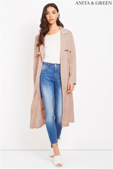 Anita & Green Sateen Duster Coat