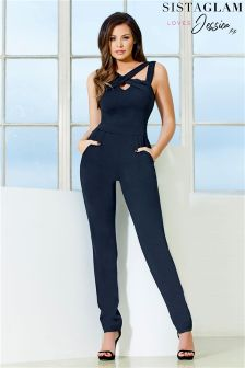 Jessica Wright Crossover Jumpsuit