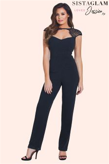 Jessica Wright Lace Jumpsuit