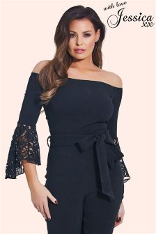 Jessica Wright Lace Body Top