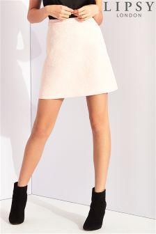 Lipsy Jacquard A line Skirt