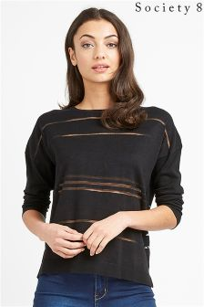 Society 8 Sheer Stripe Jumper