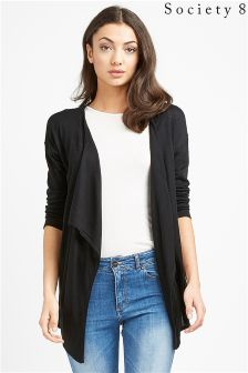 Society 8 Light Weight Waterfall Cardigan