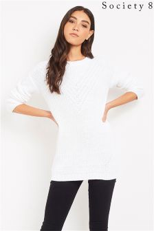 Society 8 Stitch Cable Jumper