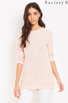 Society 8 Stitch Cable Soft Jumper