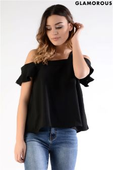 Glamorous Petite Off The Shoulder Top